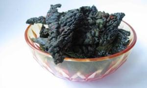 The perfect kale crisps.