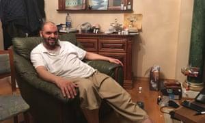 Lutfi Bin Ali at his home in Semey.