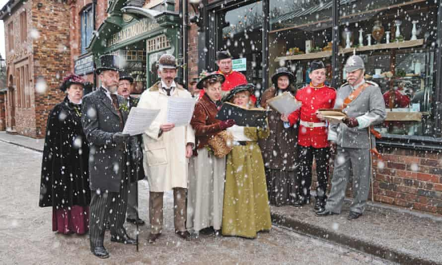 Blists Hill Victorian Christmas, Shropshire