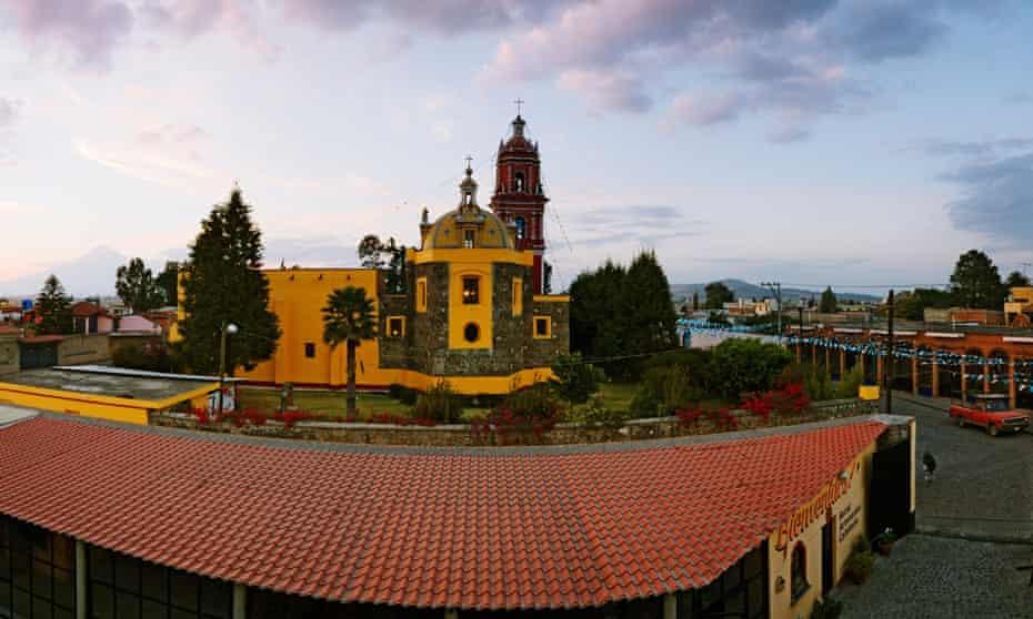Church of Santa Maria de Tonantzintla, Cholula, Mexico