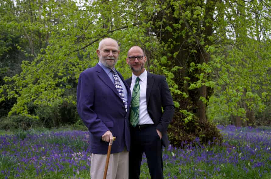 Oliver Sacks, left, and Bill Hayes in 2015.