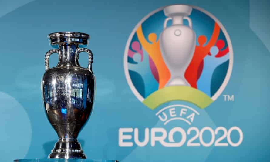 The European Championship trophy pictured at the launch of Euro 2020 in Munich in October 2016.