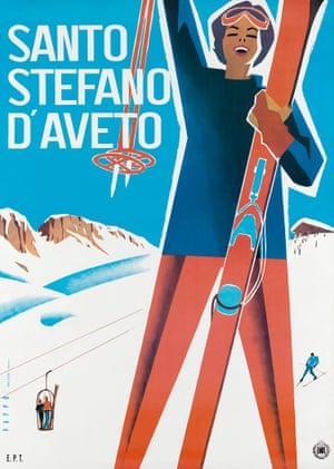 Santo Stefano d'Aveto, 1955, by Mario Puppo
