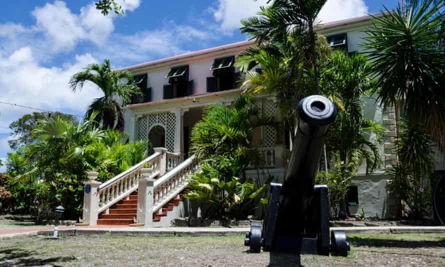 Sunbury House Plantation, Barbados, West IndiesK6G2RK Sunbury House Plantation, Barbados, West Indies