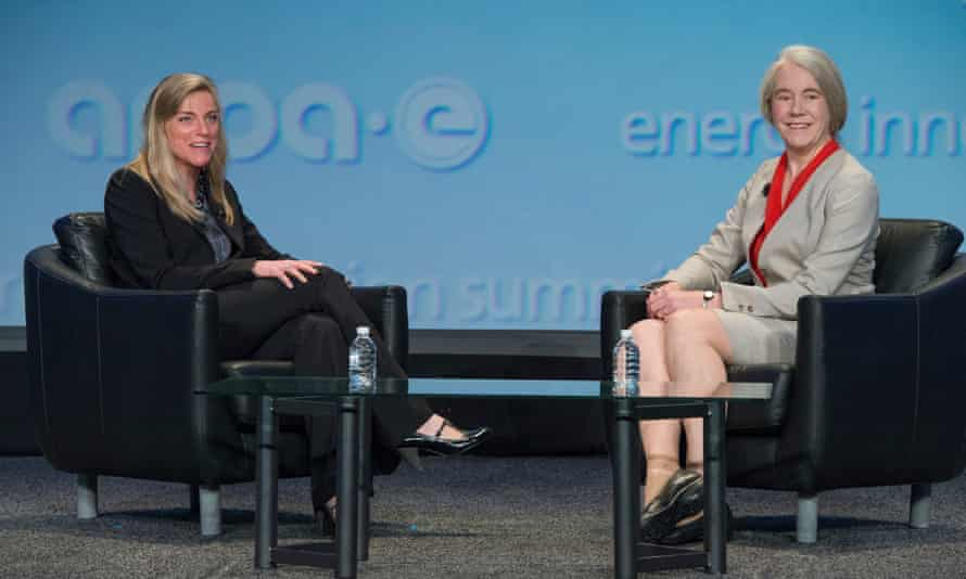 Dr. Ellen Williams (right), director of Arpa-E: 'We want power to be easy.'