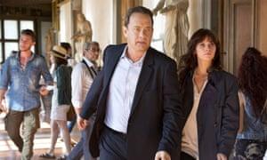 Burn baby burn … Tom Hanks and Felicity Jones in Inferno