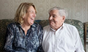 Judith Cameron, left, and her 91-year-old father, Charles