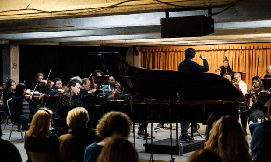 Samson Tsoy with the Philharmonia Orchestra conducted by Maxim Emelyanychev at Bold Tendencies.