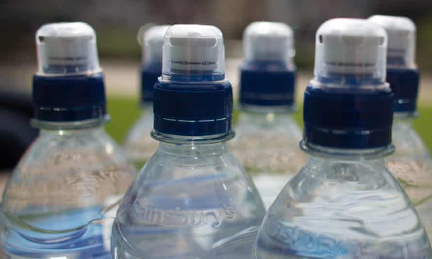 'It takes 7 litres of water and 162g of oil to make the plastic for each bottle.'