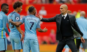 Pep Guardiola has had an immediate impact on his players as Manchester City manager.