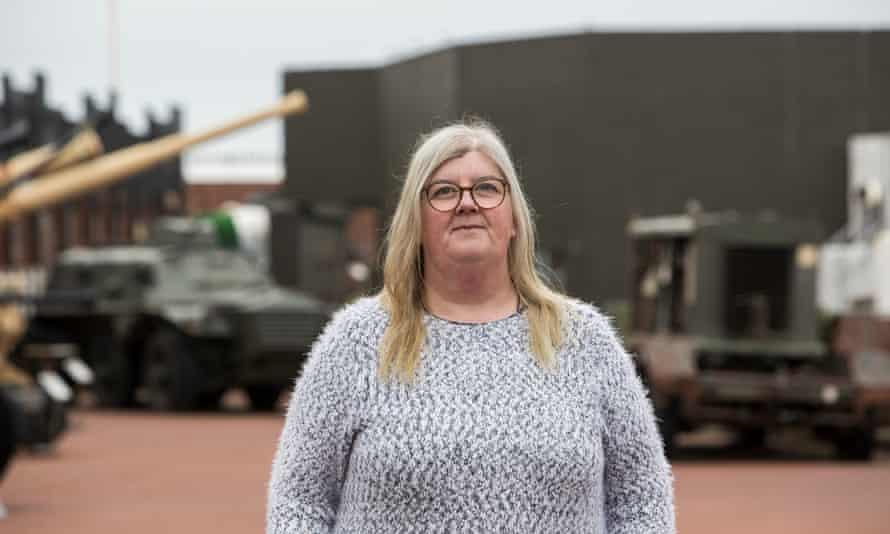 Diane Stephens, Heugh Battery Museum, The Headland, Hartlepool, UK.