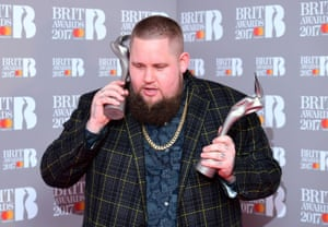 Rag 'n' Bone Man, aka Rory Graham