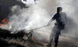 Bujumbura barricade