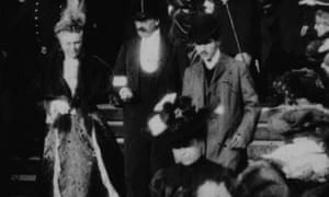 Possibly the only known footage of Marcel Proust