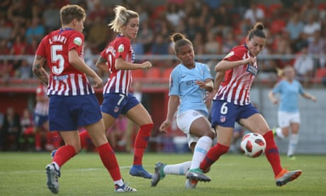 Atlético Madrid's Kenti Robles pops up late to peg back Manchester City