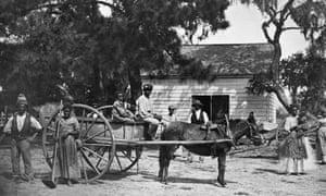 slaves on a south carolina plantation in 1862
