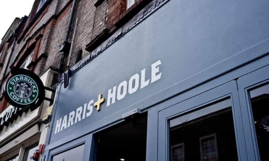 A Harris + Hoole branch in Crouch End, north London.