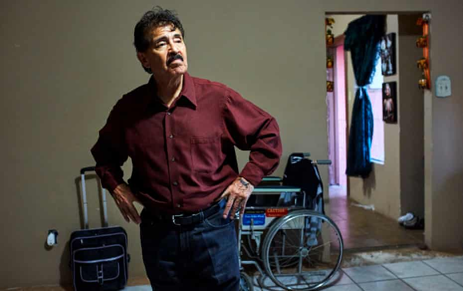 Miguel Rocky Hern‡ndez, a US military veteran deported to Mexico at 71 years old.