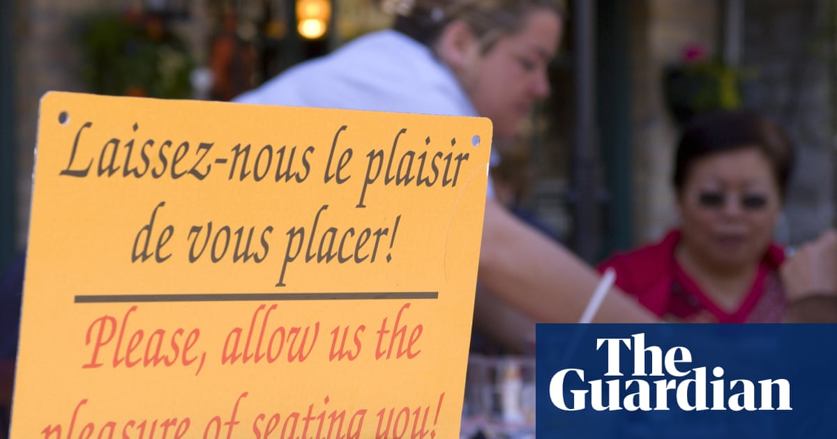 Quebec's French language policy is nothing to rebel against
