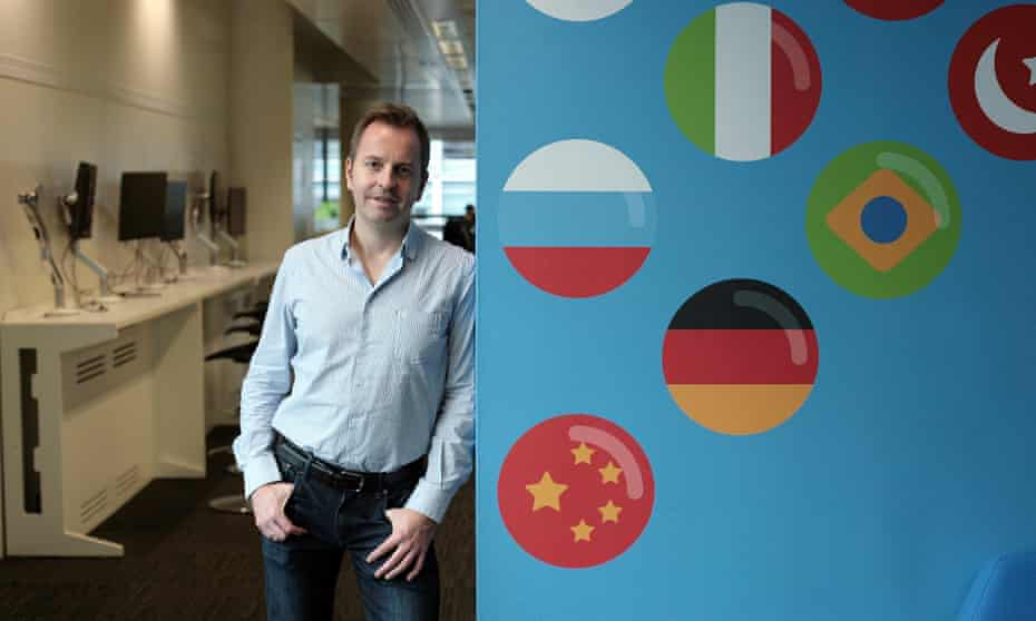 Busuu's chief executive Bernhard Niesner says Brexit is already causing problems.