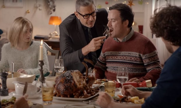 Jeff Goldblum in Curry's 2015 Christmas ad campaign.