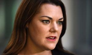 Greens senator Sarah Hanson-Young has branded David Leyonhjelm's comments 'reprehensible, hurtful'.