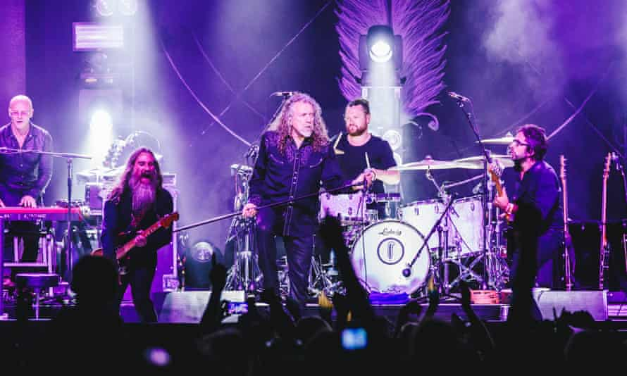 Robert Plant performs at Wilderness festival 2016