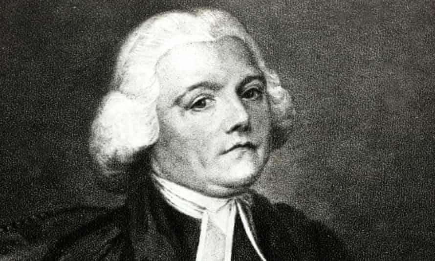 'A beady-eyed student of nature': Gilbert White, circa 1750.