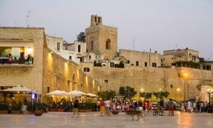 Otranto old town in the in the Apulia region of Italy.