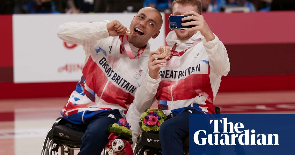 ParalympicsGB player-coach Choudhry leads team to basketball bronze