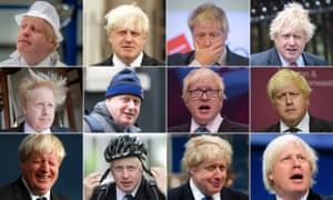 The many faces – and hairdos – of Boris Johnson.