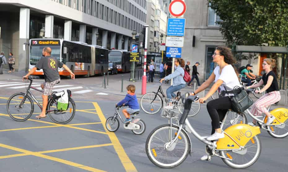 A car-free day in Brussels on 16 September