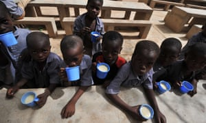 Schoolchildren in Niger.