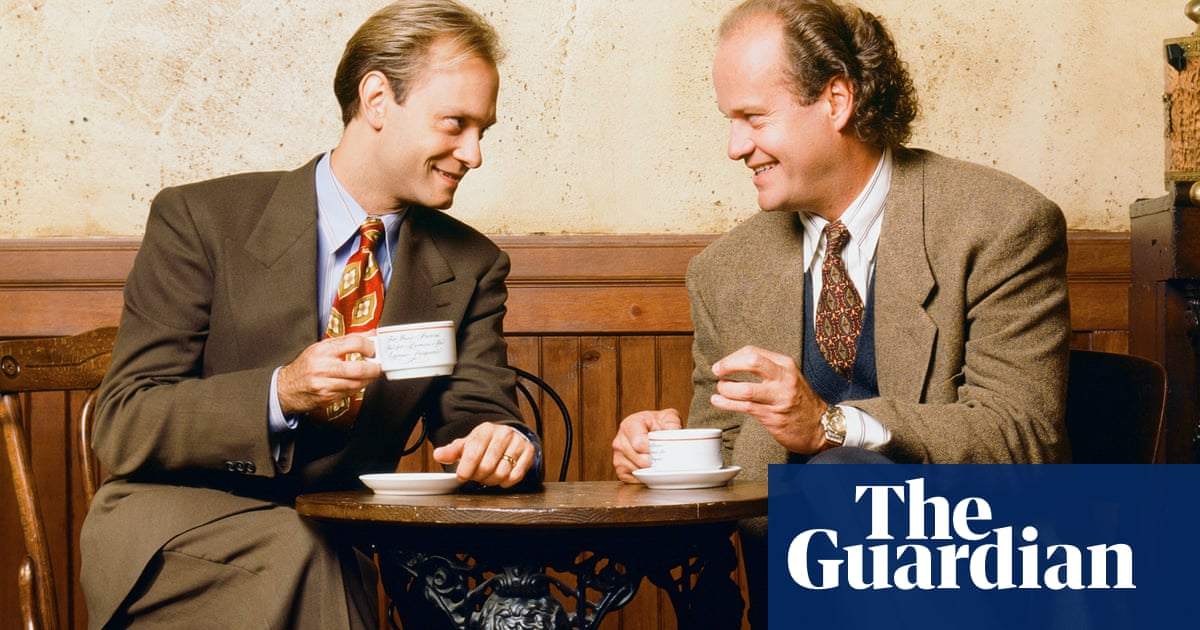 f186fd34 Shrinking returns: analysing the pros and cons of a Frasier reboot. Reports  suggest that Kelsey Grammer's pretentious therapist could ...