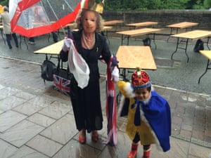 Paula Monaghan with grandson Noah