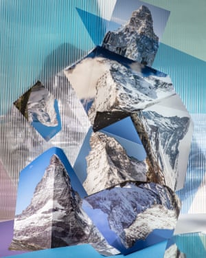 Anastasia Samoylova, Matterhorns 2019 Landscape Sublime series Kopie Artist: Anastasia Samoylova (USA, Russia – born 1984) Title: Matterhorns (2019), Landscape Sublime Series Image courtesy of the artist and Gallery Peter Sillem, Frankfurt, Germany