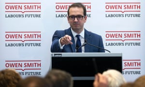 Owen Smith speaking at his press conference this morning.