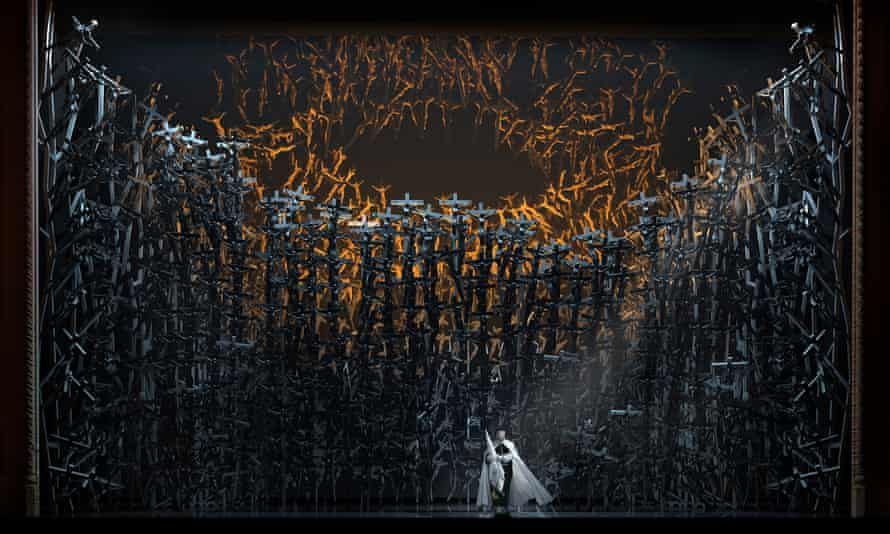 Cross to bear … Norma at the Royal Opera House
