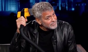 'My haircuts take literally two minutes,' said George Clooney with regard to the $139.95 Flowbee device.