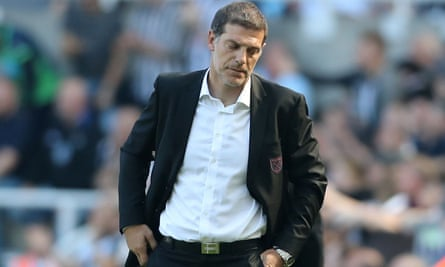 Slaven Bilic has overseen three defeats from three Premier League games for West Ham this season