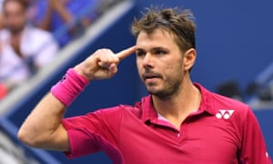 Stan Wawrinka is finding his best form on the biggest stage once again.