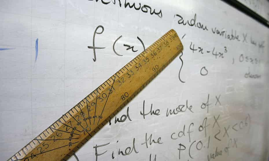 ruler and calculations