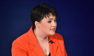 A tax commission set up by Scottish Conservative leader Ruth Davidson wanted a new 30% rate of tax to appeal to voters from the so-called 'squeezed middle'.