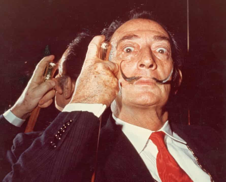 Penchant for the surreal … Salvador Dalí.