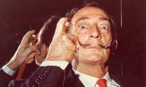 A 1960s portrait of Salvador Dalí