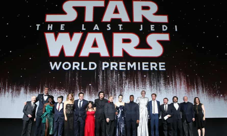 Star Wars: The Last Jedi premiere at the Shrine auditorium in LA