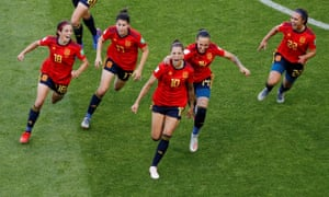 Spain 3-1 South Africa: Women's World Cup 2019 – as it