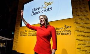 New Liberal Democrat leader Jo Swinson.