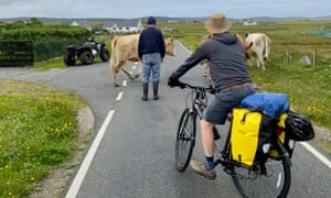Traffic problems on South Uist