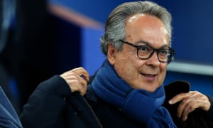 Everton's owner Farhad Moshiri has enjoyed a cosy relationship with the radio presenter which has annoyed fans who expect club news to be relayed via the club's website.